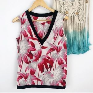 Marni Sleeveless Floral Blouse Made in Portugal